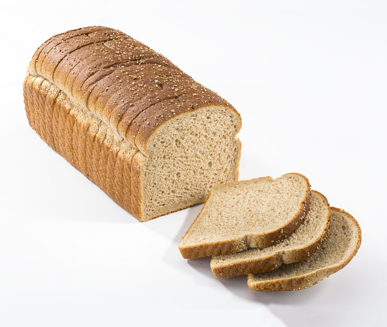 16oz sliced loaf of Gold Medal Bakery stoneground wheat bread