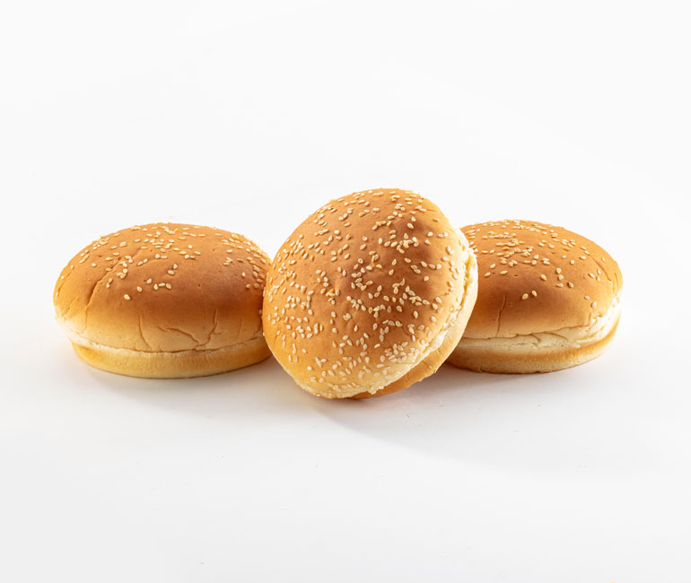premium seeded white rolls from Gold Medal Bakery