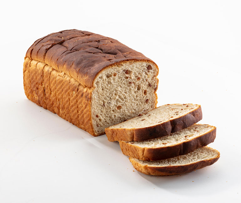sliced loaf of Gold Medal Bakery French toast bread