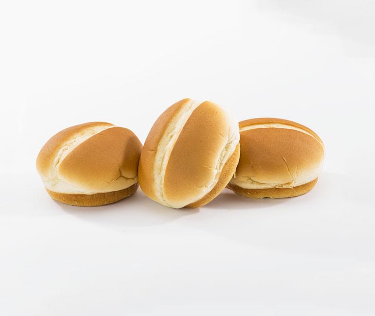 hamburger rolls from Gold Medal Bakery