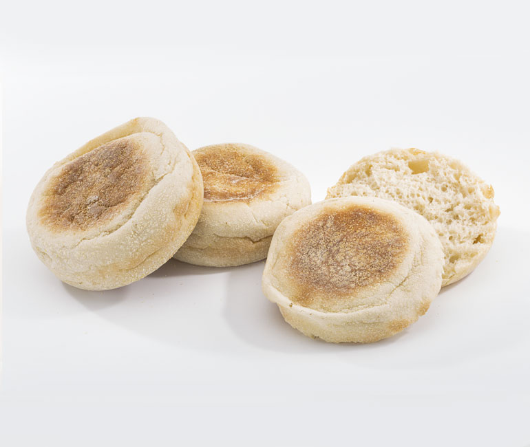 jumbo premium English muffins from Gold Medal Bakery