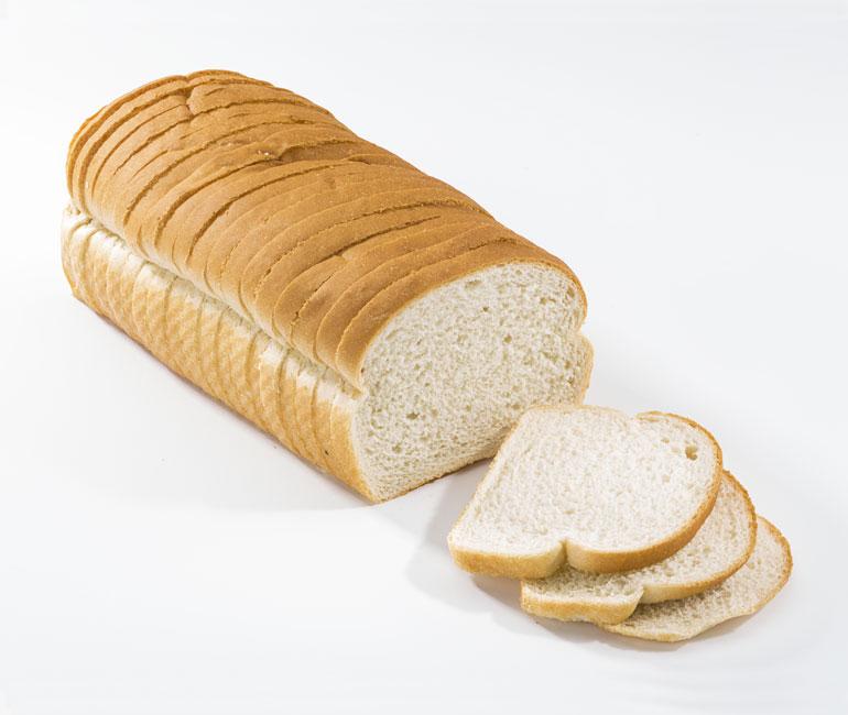 sliced loaf of Gold Medal Bakery light Italian bread