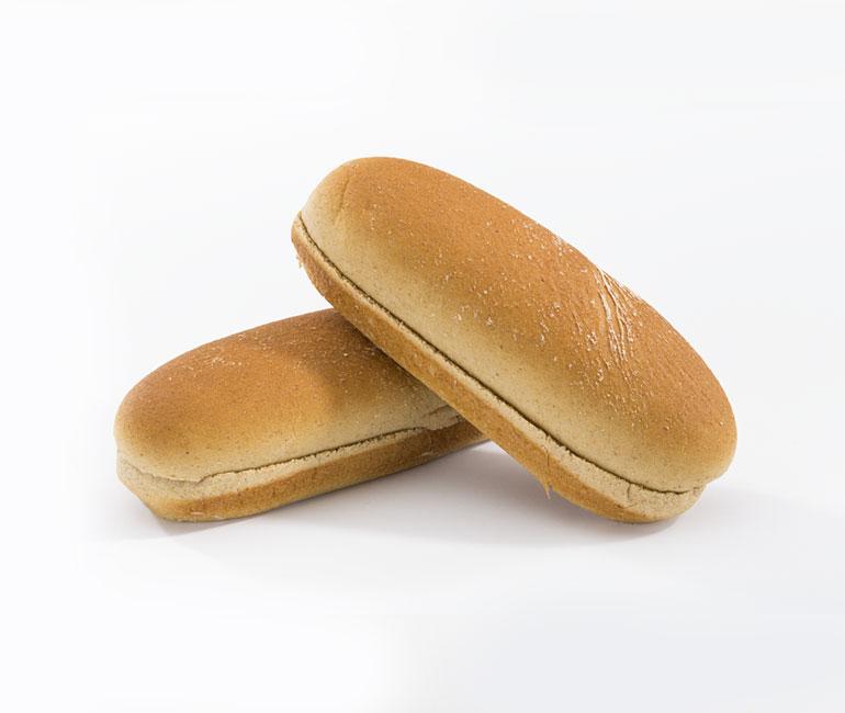 light wheat hotdog rolls from Gold Medal Bakery
