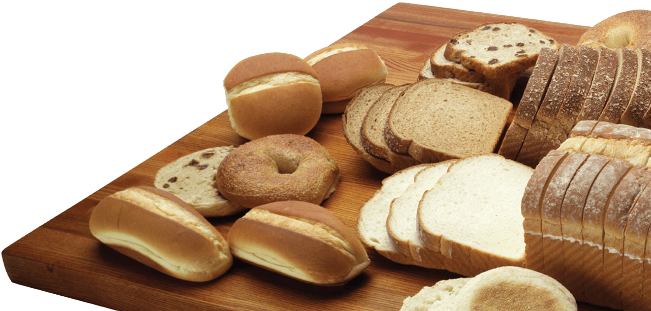Gold Medal Bakery bread products on a table