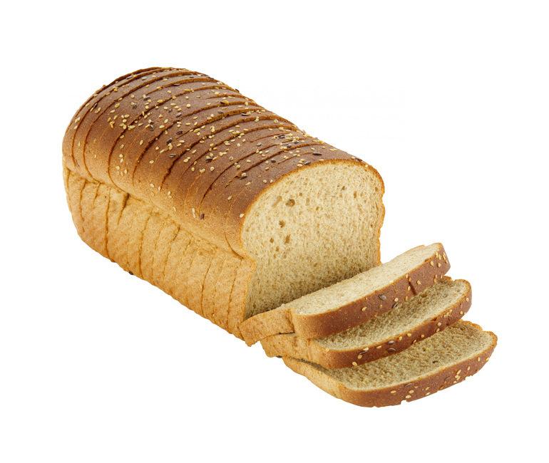 sliced loaf of Gold Medal Bakery organic multigrain bread