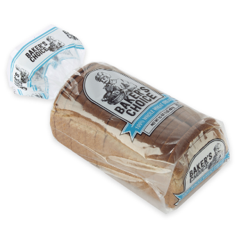 package of Baker's Choice white bread