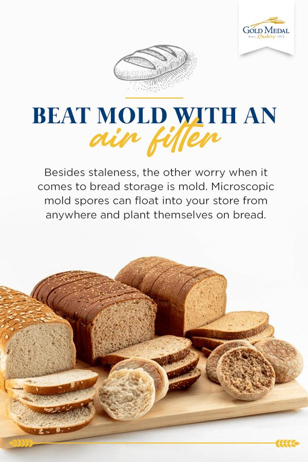 Beat mold with an air filter