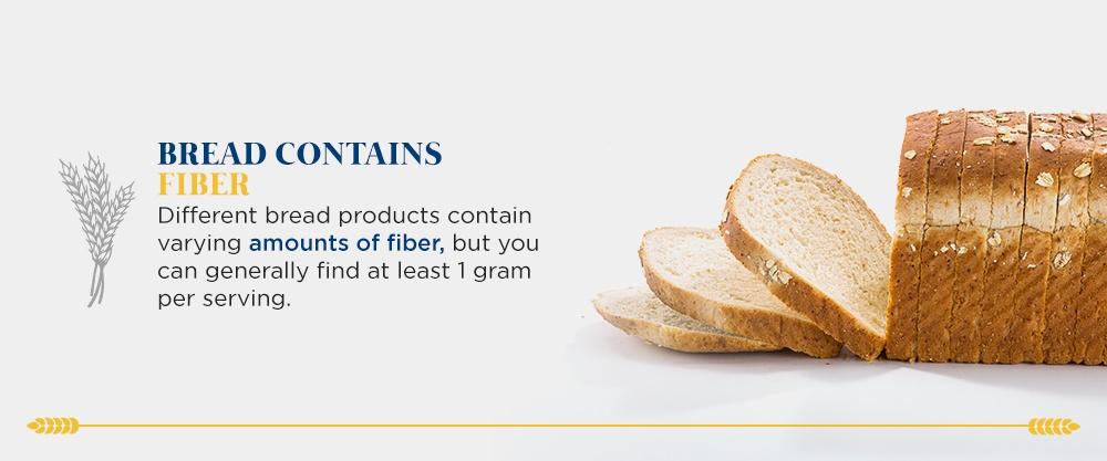 Bread Contains Fiber