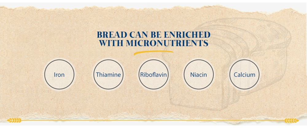 Bread Can Be Enriched With Micronutrients