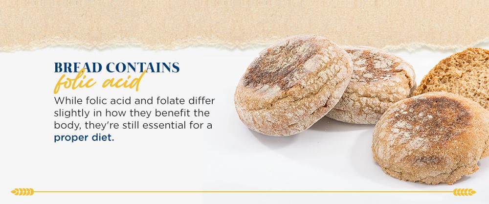 Bread Contains Folic Acid