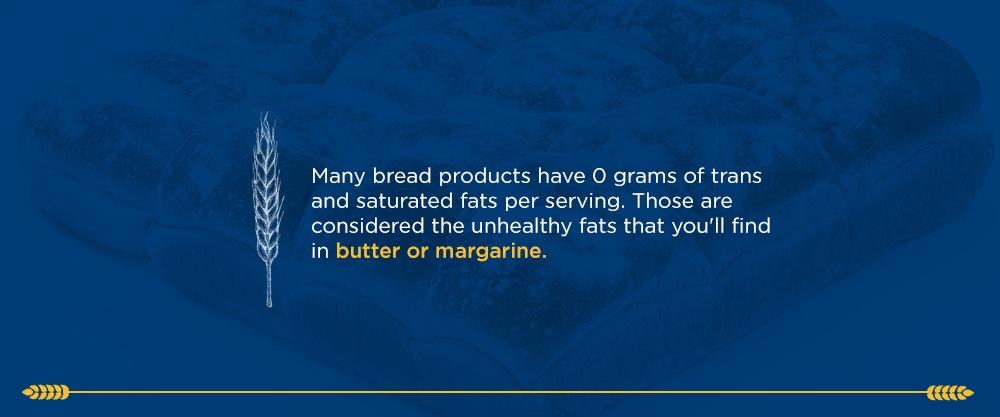 Bread Is Low in Fat