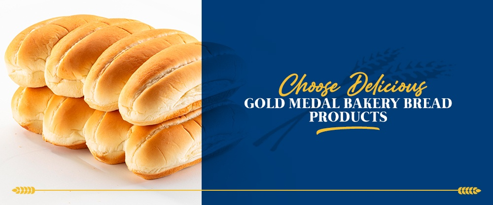 Choose Delicious Gold Medal Bakery Bread Products